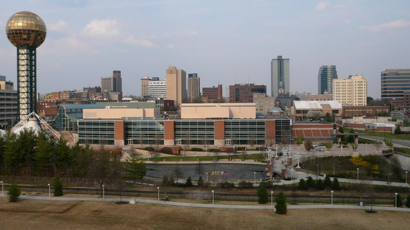 Knoxville T N skyline