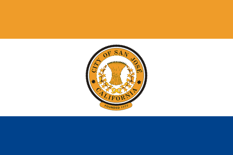 Flag of San Jose, California