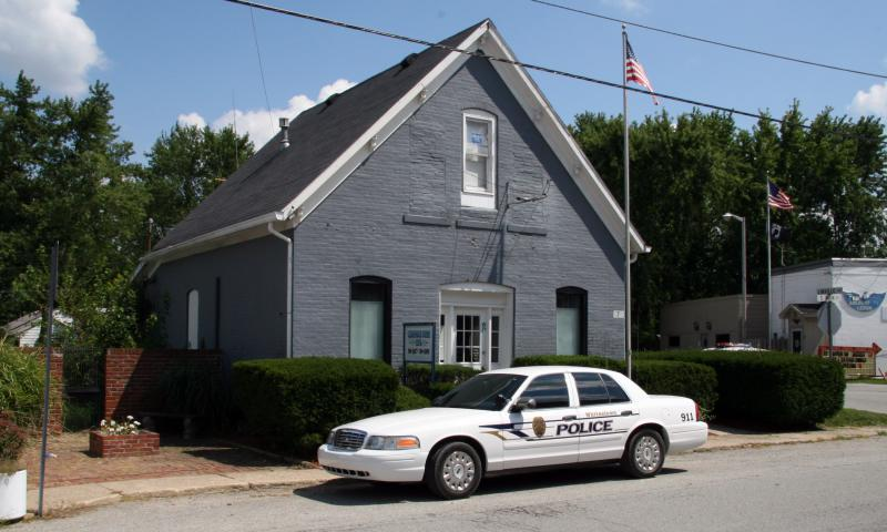 Whitestown, Indiana police