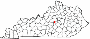K Y Map-doton- Perryville