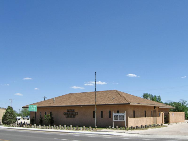Tatum New Mexico Community Library