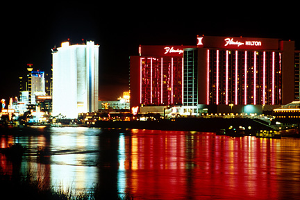 Laughlin at night