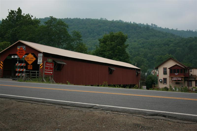 Forksville Covered Bridge P A