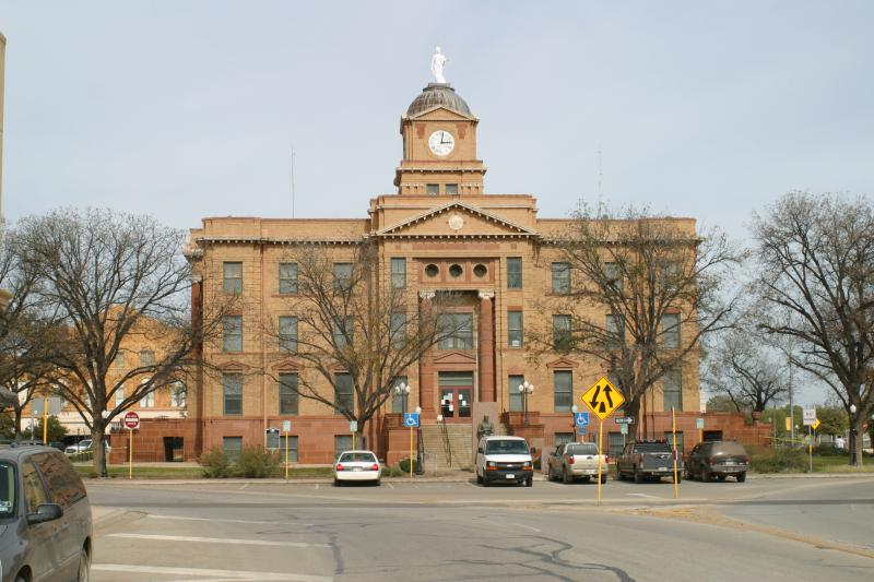 Jones County Courthouse Anson Texas 2009