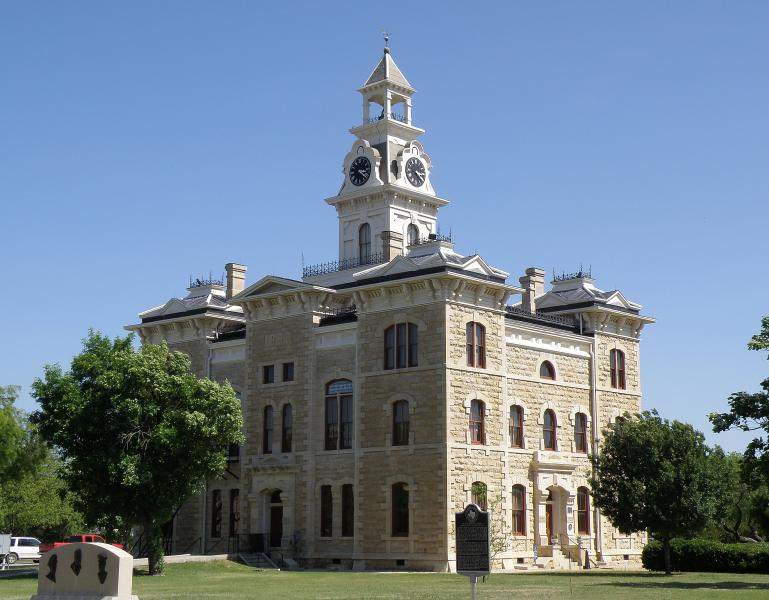 Shackleford County Courthouse